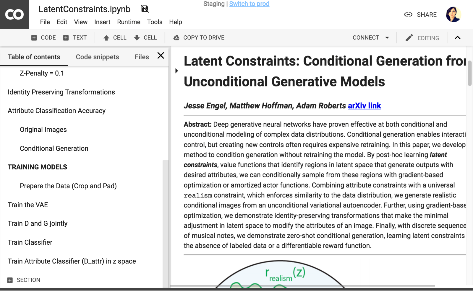 overview of Latent Constraints